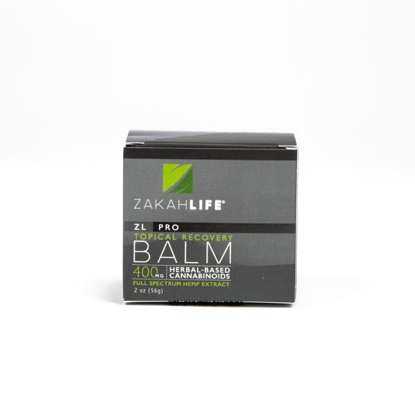 CBD Rich Full Spectrum Hemp Topical Recovery Balm